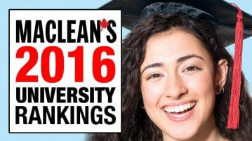 Maclean's 2016 University Rankings