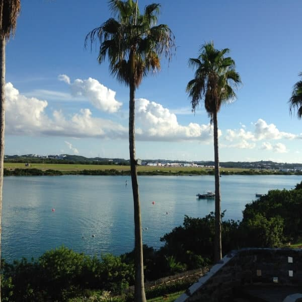 View from the Bermuda Institute of Ocean Science (BIOS) where we stayed in Bermuda
