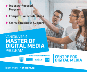 Center for Digital Media 300×250 Home