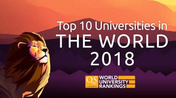 QS Top University Rankings 2018 - just released!