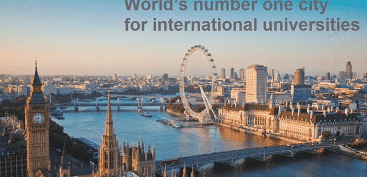 London revealed as the world's number one city for international universities