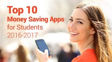 Top 10 Money Saving Apps for Students 2016-2017