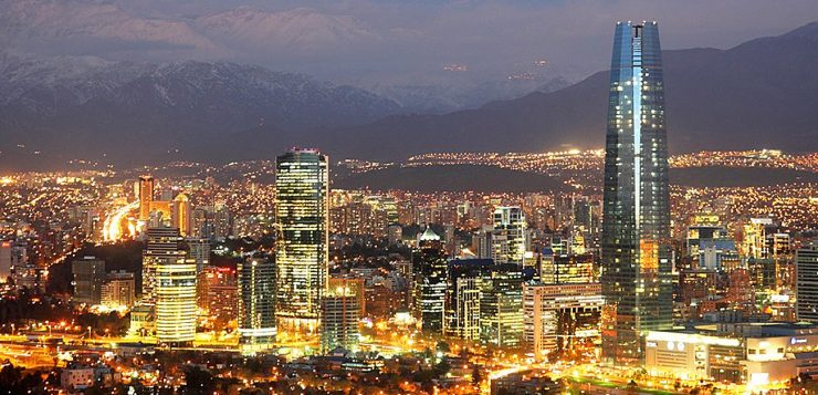 Santiago is the most technological city in Latin America