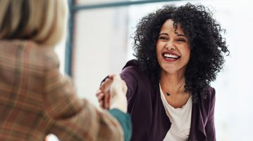It's more than just good manners: The body language that will land you the job