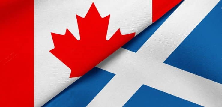 Canadian connections – Scots' indelible imprint on Canada