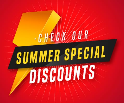 Check Our Summer Special Discounts