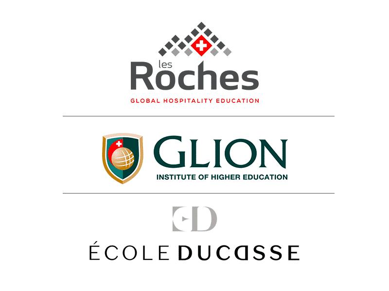 Les Roches, Glion and École Ducasse