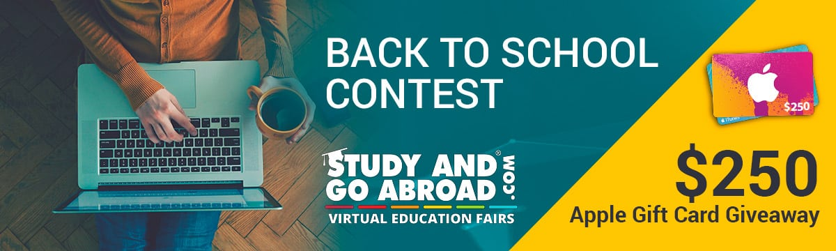 Study and Go Abroad - Back to School Contest - $250 Giveaway