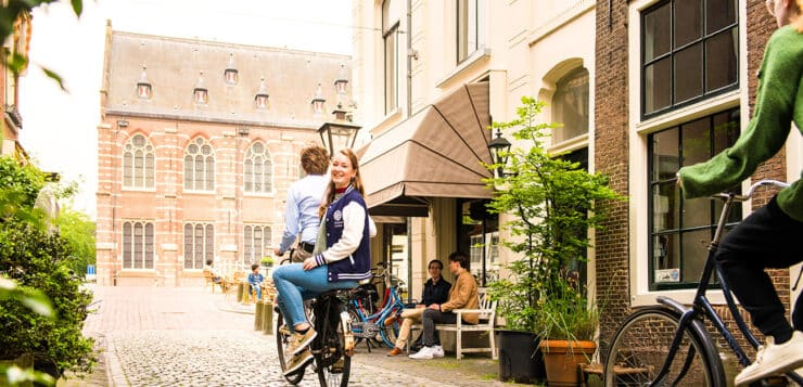 There's more to the Netherlands than windmills and tulips. Study in Holland at Leiden University!