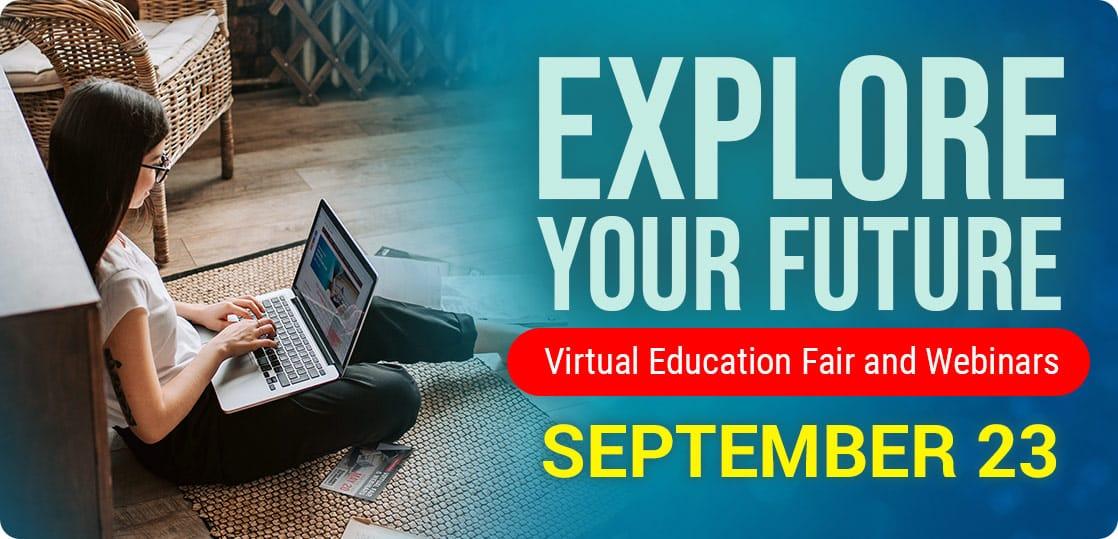 Virtual Education Fair - September 23